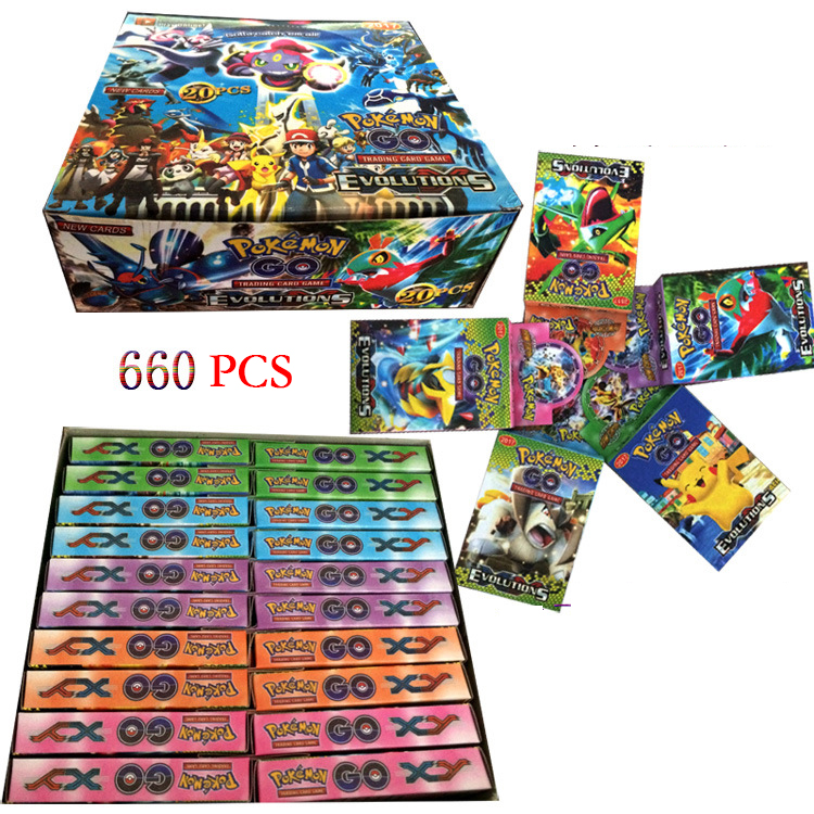 Factory hotsale cards English trading cards game pokemon go cards