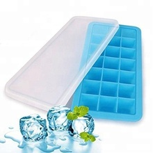 Silicone Homemade Square Ice Cube Freezer Baby Food Container Tray Mould