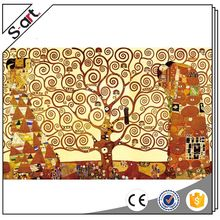 China goods best sell gustav klimt oil painting on canvas