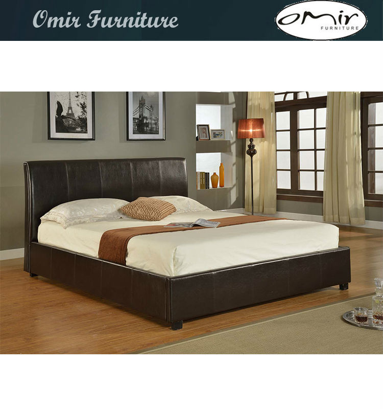 Buy Cheap Beds: Cheap Beautiful Pink Hot Leather Bed For Sale