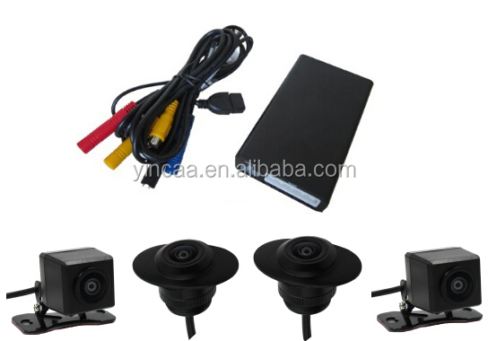 360 degree bird eye view car camera around view monitoring system