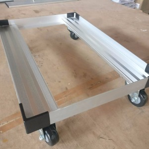 400300 aluminum made in china Moving Box Cart Dolly/Steel Tool Trolley/Warehouse Crate Dolly