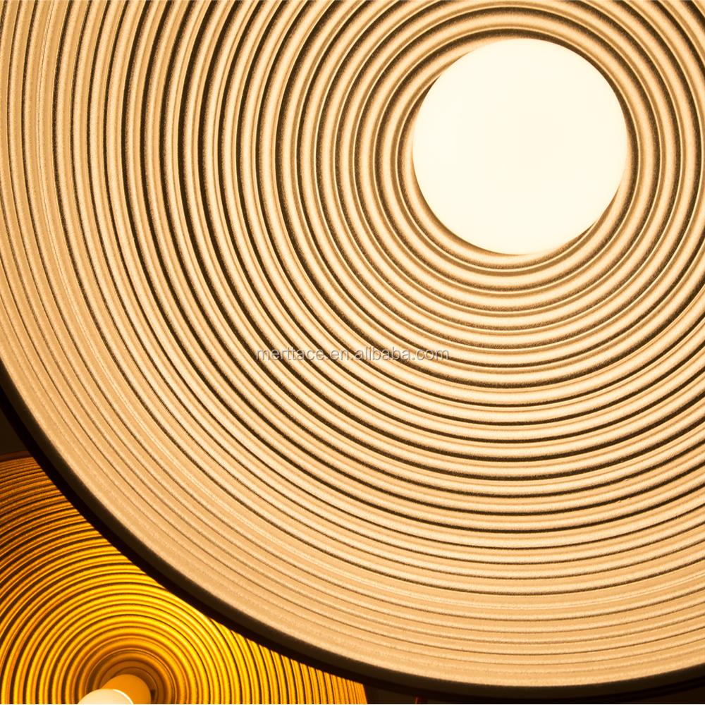 Large Restaurant Chandelier Lighting Commercial Pendant