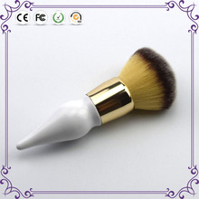 New design synthetic hair cosmetic powder blush brush for makeup