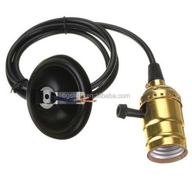 Wholesale Cheap Price Electric Aluminum Bronze E27 Lamp Holder ...