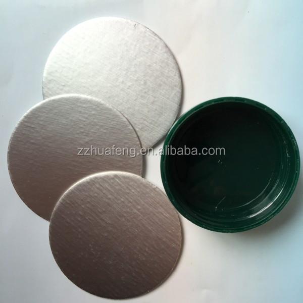 Aluminium Foil Bottle Security Seal For Hdpe Bottle