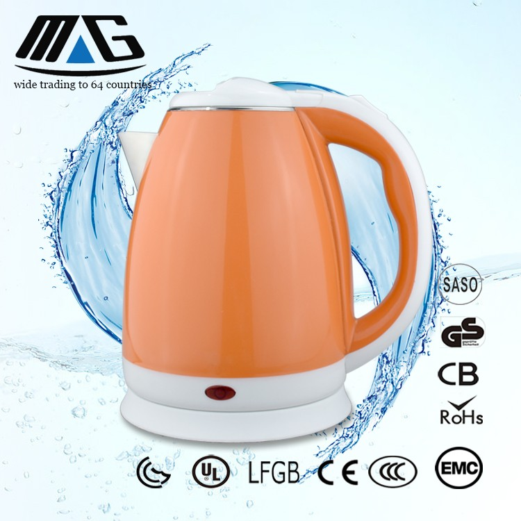 appliance kitchen electric kettle 1.7 litre plastic electrical kettle with inner part stainless steel