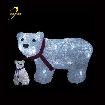 Theme park decorations polar bear christmas lights - Theme Park Decorations Polar Bear Christmas Lights - Buy Polar Bear