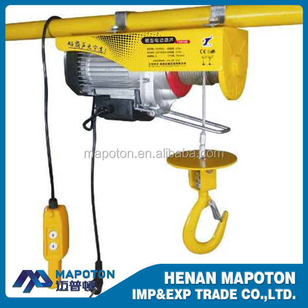 Skillful Manufacture PA1000 Mini Electric Wire Rope Hoist