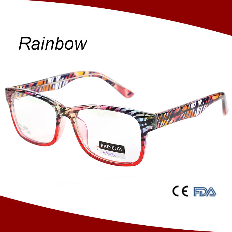 2016 hot sale cheap&various color plastic optical frames ce eyeglasses
