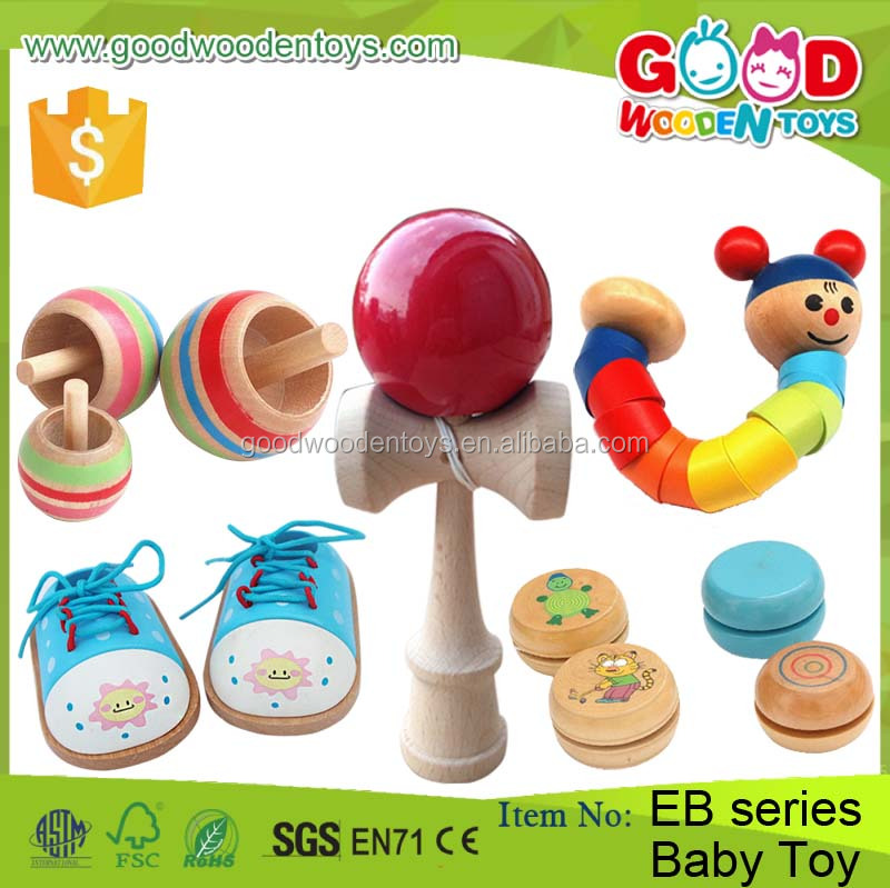 2017 New Design Kids Promotional Toy Cheapest Children Game Wooden Educational Baby Toy for Sale