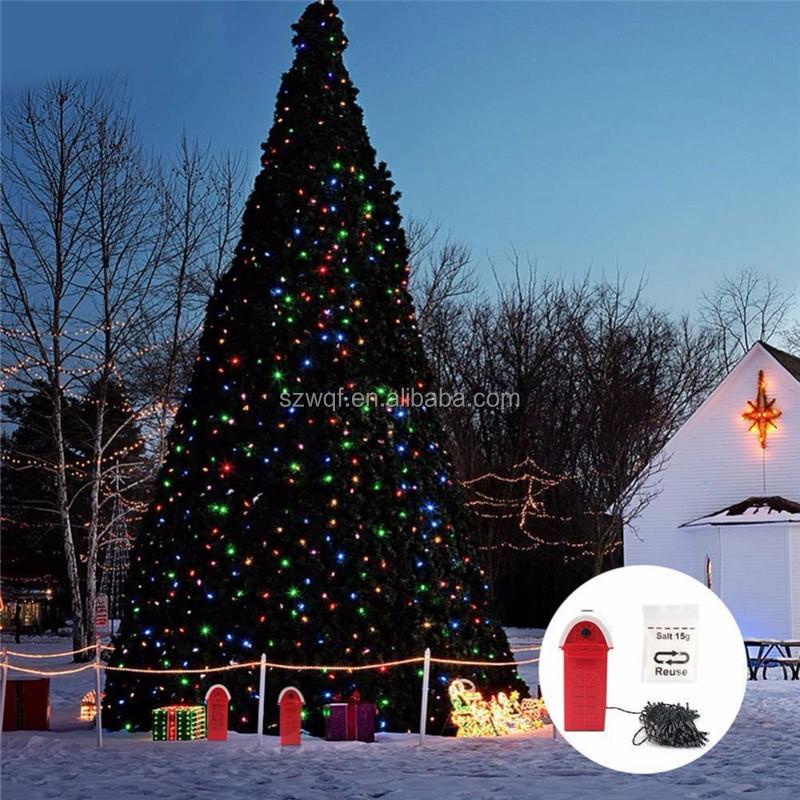 Warm Rain Showers Christmas Lights Outdoor Led Blink Light Muslim