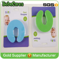 Wholesale baby finger guard soft EVA unique door stops for infant safety