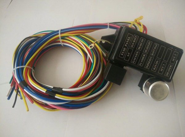 12v 12 circuit wiring kits spare fuse box universal hotrods wire 12v 12 circuit wiring kits spare fuse box universal hotrods wire harness