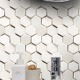 3d Bevel Hexagon Tiles Bathroom Ceramic Decorative Tiles from China