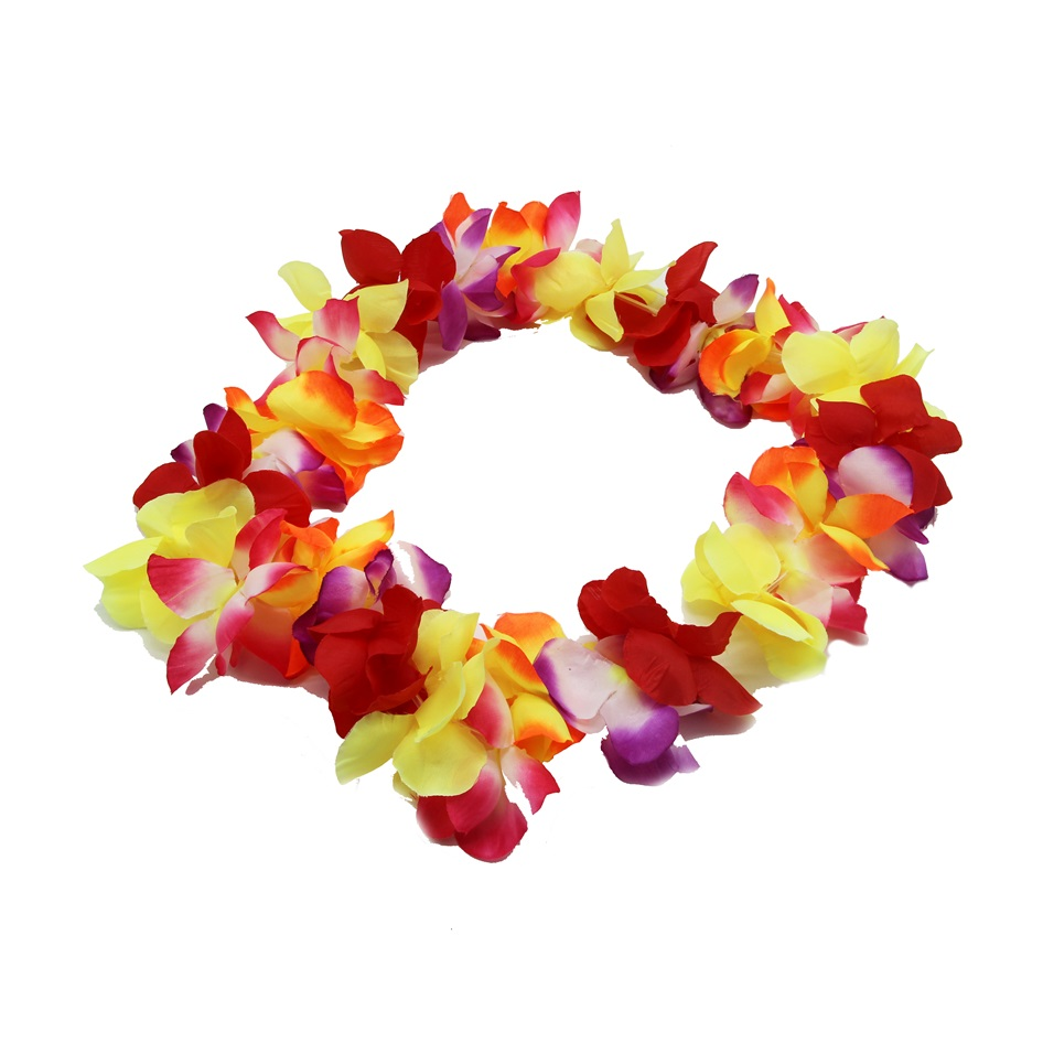 garden hula party wisteria hanging wreaths garland silk leis hawaiian cream artificial festive flowers product flower store necklace