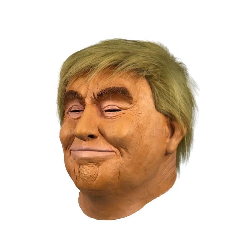 2020 Realistic Celebrity Halloween 2020 Human Mask Realistic Celebrity Halloween Costume President