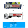 big die cast friction oil tank truck model die cast toys for sale