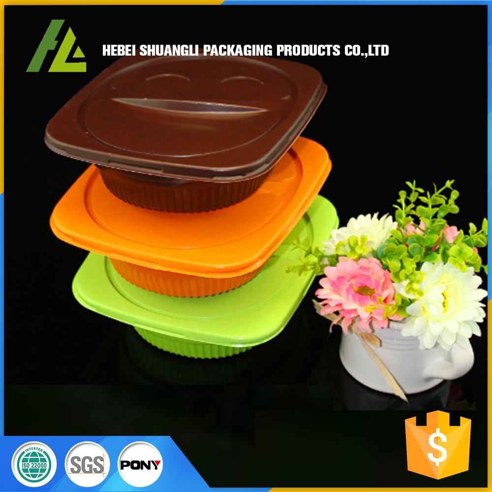 Plastic ready meal prep container