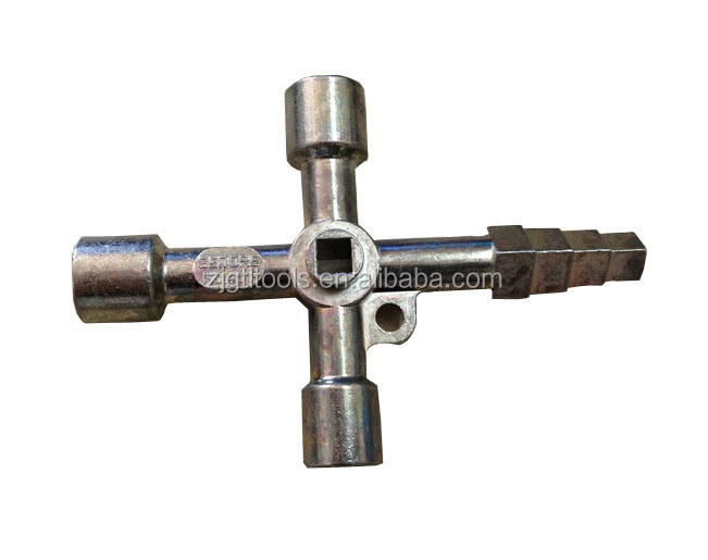 4 Way Universal Triangel Key Wrench For Electic Control