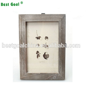 Vintage Rustic Style Artwork Wood Photo Picture Frame