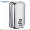 Bathroom stainless steel soap dispenser hand soap dispenser