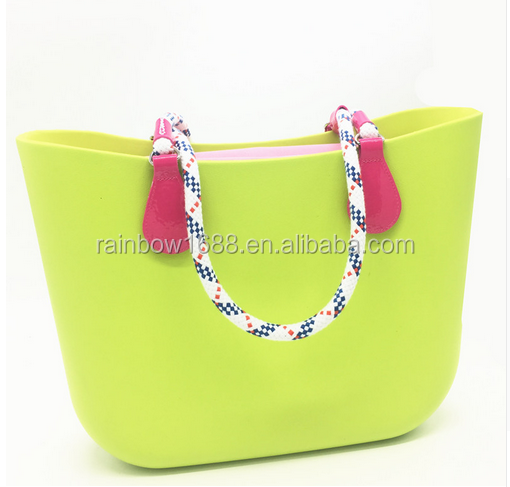 d9a8358acb96 Wholesales china factory price Free style O EVA bag itlay silicone bags  handbags