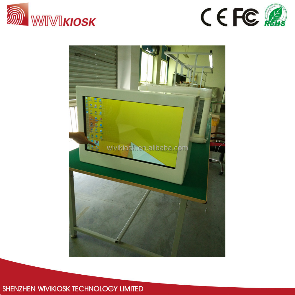 "32"" Fashionable transparent LCD Display Showcase"