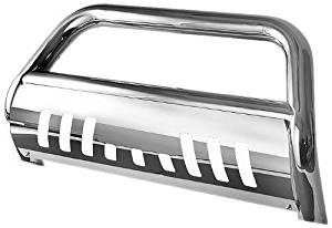 "Spyder Auto (BBR-DR-A02G0806) 3"" Polished T-304 Stainless Steel Bull Bar for Dodge RAM 1500"
