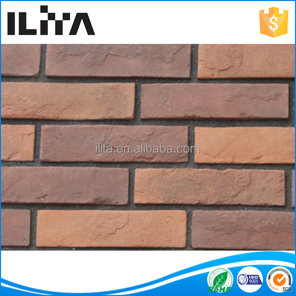 Red Brick Artificial Stone the Brick for wall cladding(YLD-20111)