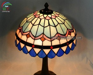 tiffany stained glass lamp shade