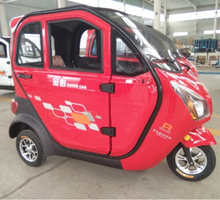 2016 China Enclosed 3 Wheel Motorcycle Electric Tricycle Supplier