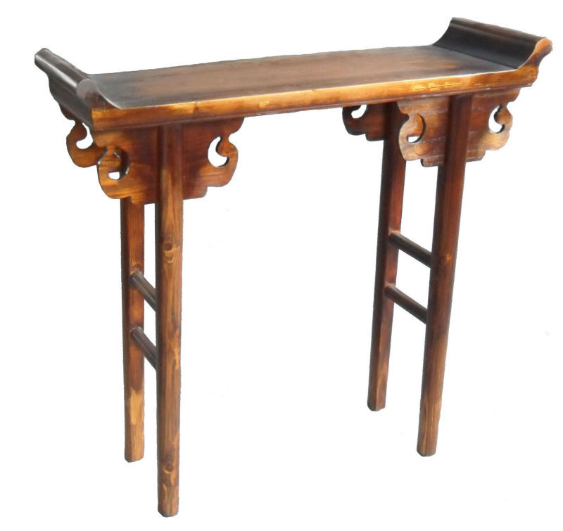 Chinese antique furniture wooden altar table LWD401