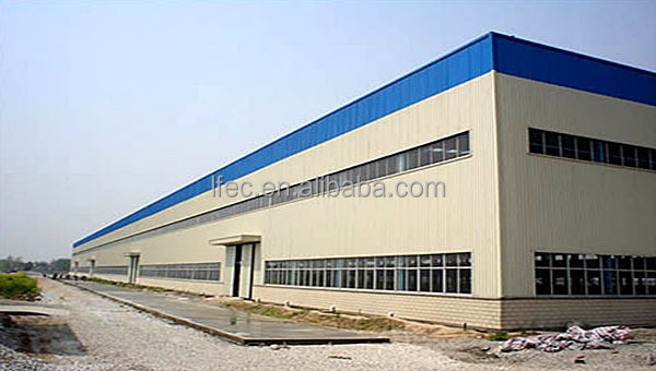 Hot selling prefabricated building construction workshop