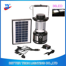 Portable LED Solar Powered Solar Lantern For Home Indoor Use Outdoor Camping Lighting