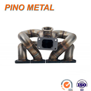 stainless steel pipe turbo exhaust manifold