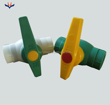 1/2'' Green Plastic PPR Irrigation PVC Ball Valve dn15 in high quality, free samples