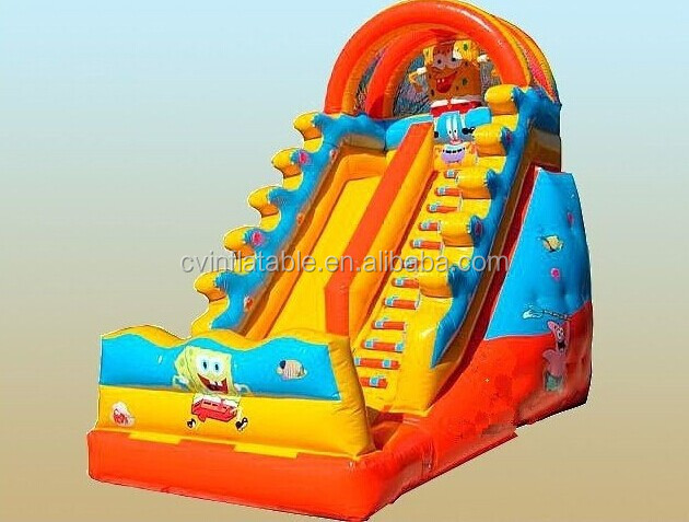 Manufacturers selling inflatable kid slide toy, inflatable trampoline, , inflatable jump bed