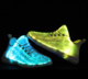 Customized Light Up Upper Led Running Shoes For Kids