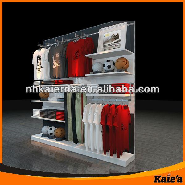 Souvent Mdf mobilier magasin de vêtements/mural. vêtements présentoir  MB22