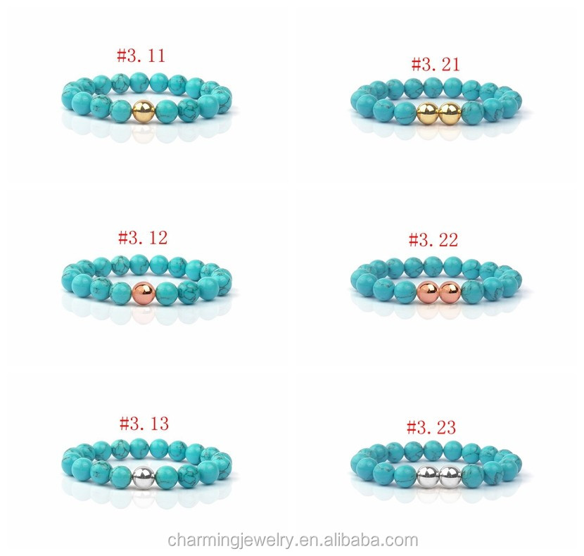 Women Fashion Natural Stone Bead Tibet Bracelet