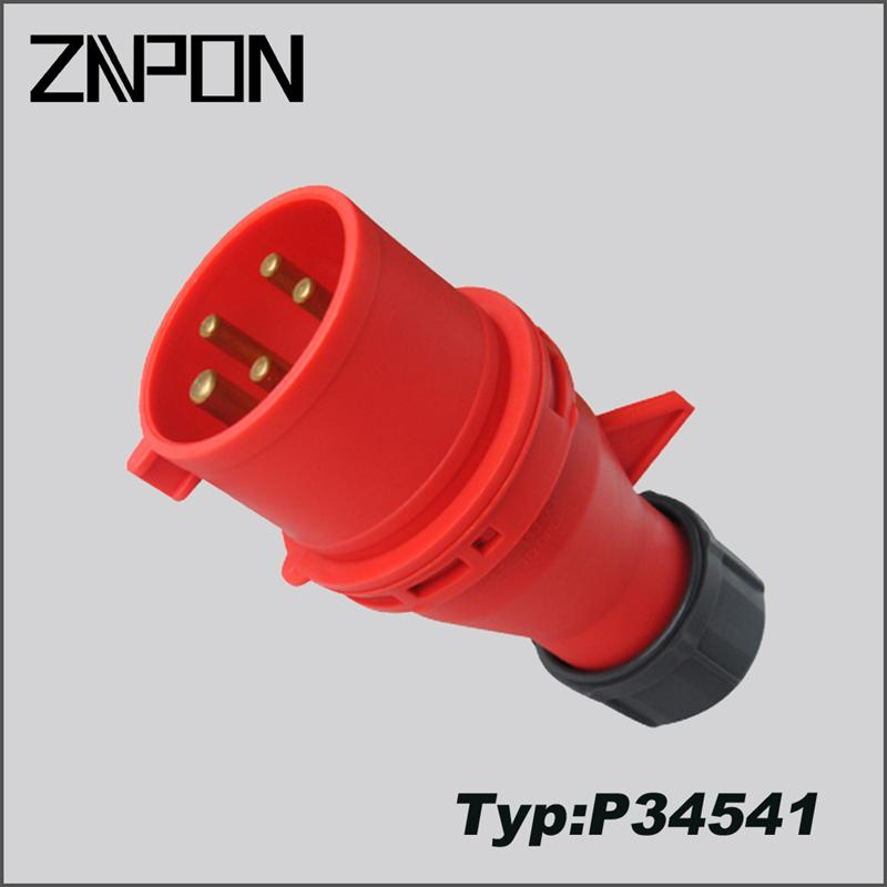 P34541 wholesale 32A manlakis industrial <strong>plug</strong>