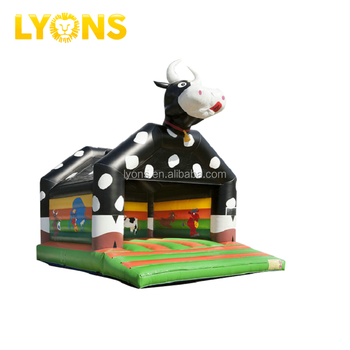 Inflatable Giant Cow Bounce House Jumping Castle Bouncy Castle