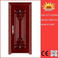 Sun City top selling Vitnam style exterior iron door design SC-S091