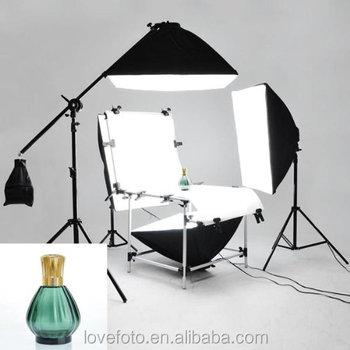 Non-Reflective Photography Shooting Table Lighting Kit 60*130cm Softbox Kit & Non-reflective Photography Shooting Table Lighting Kit 60*130cm ...