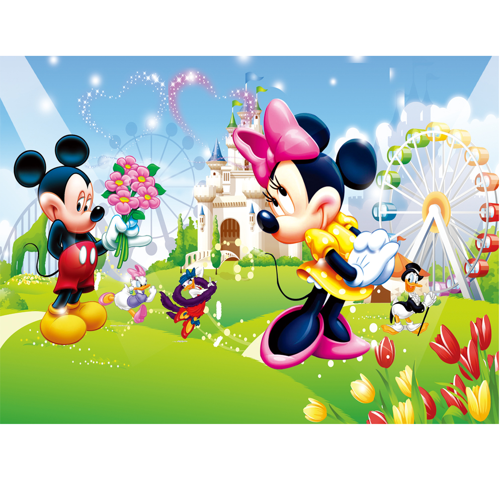 3d Wallpaper Murals Cartoon Animated Wallpaper Popular Funny
