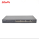 Best 100 Mbps 24 Port Poe Switch Network Switch 28Ports Support IEEE802 3af at OEM Manufacture