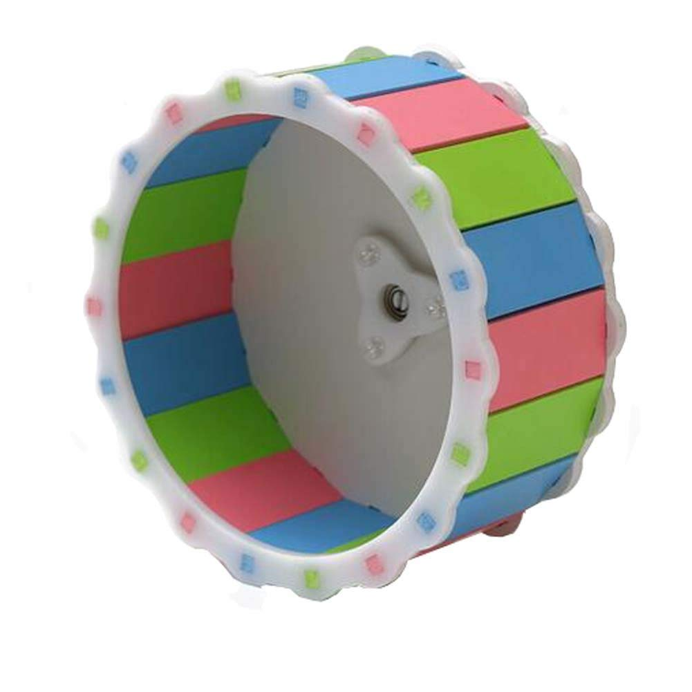 """ANONE Hamster Exercise Wheel 6"""" Running Toy Cage Accessories for Dwarf Hamster Mouse Small Animals"""