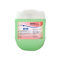 Dishwasher machine rinse agent for hotel restaurant cleaning