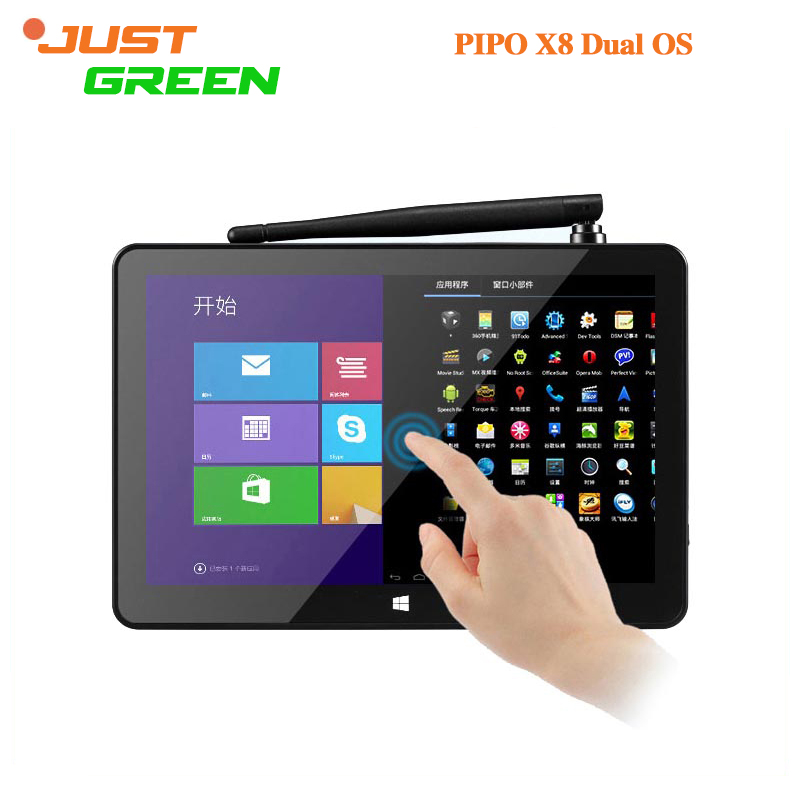 PIPO X8 Dual OS Mini Pc 7.0 inch 1280*800 Intel Z3736F Quad Core 2GB 32GB <strong>Android</strong> 4.4 Win8 Play Store BT 4.0 <strong>TV</strong> Box